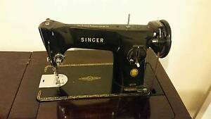 Singer Treadle Sewing Machine with Cabinet Pakenham Cardinia Area Preview