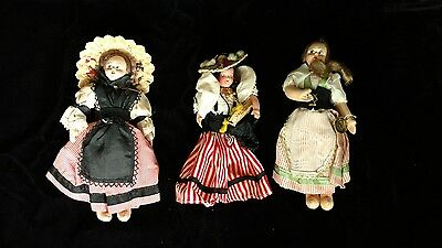 Vintage lot of Dolls Cloth Eros and Plastic Italy