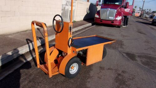 NORDSKOG INDUSTRIAL ELECTRIC UTILITY CART WITH CHARGER READY TO GO TO WORK