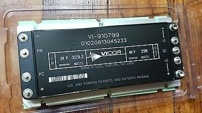 Vicor Vi 910799 24V To 48V Dc Converter 298W