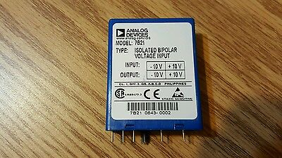 One 1 New - Analog Devices Input Module 7b21
