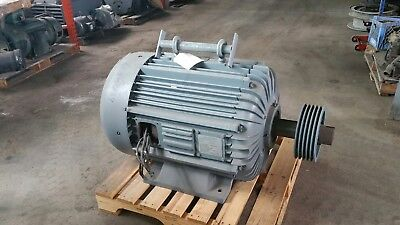 150 Hp Delco Electric Motor 1800 Rpm 460 Volt Fr. M504 Tefcbb Excellent Unit