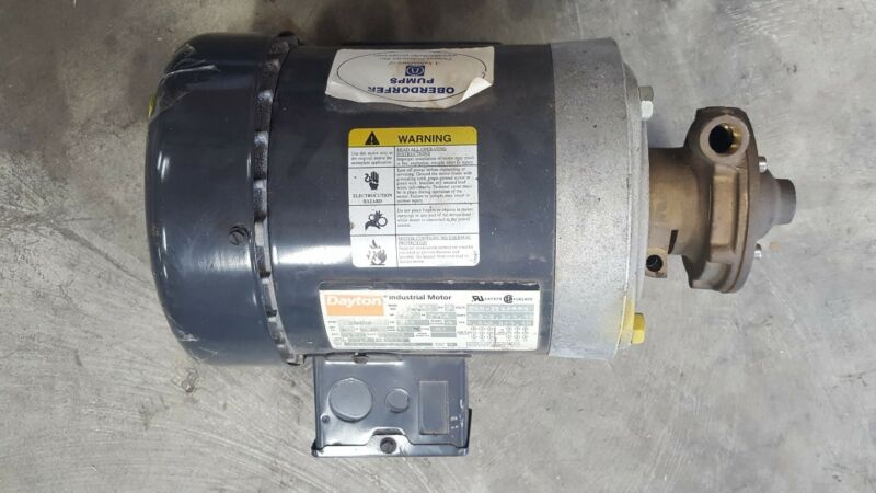 "Oberdorfer Pump 500P J58 with 1/2 HP Motor ""new"""