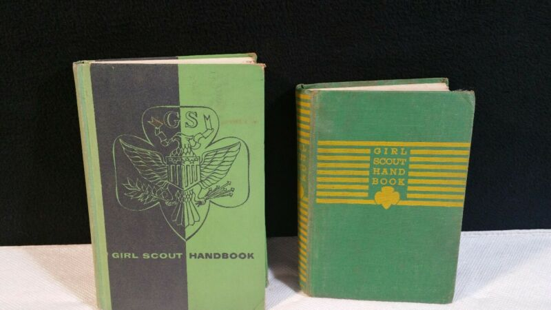 1940s & 1950s GIRL SCOUT BOOKS.