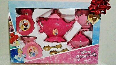 New Disney Princess tea SET Tea Party  11 PIECES service for - Princess Tea Party Set