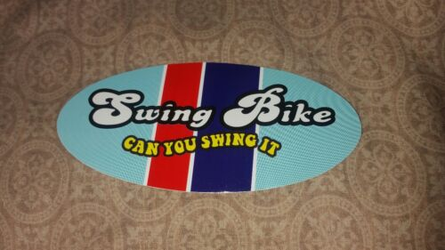 Photo Swing Bike swing bike swingbike VTG Swing Bike bicycle Sticker LAST 3 AVAILABLE!