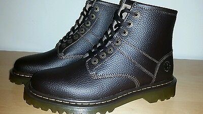 New Dr.Martens Roseland Leather Boots Men's size US 10 Dark Brown