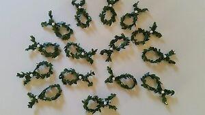 15 Fische Buchsbaum Perlen Deko Tischdeko Taufe Konfirmation Kommunion Hochzeit
