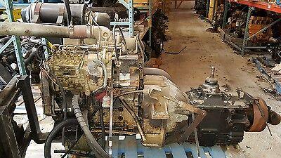 Cummins 4Bt 3 9 Turbo Diesel Engine W  5 Speed Manual Kit Free Shipping