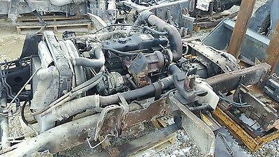 Isuzu 4Bt 4Bd2t 3 9 Turbo Diesel Engine Frame Cut Blow By Free Shipping