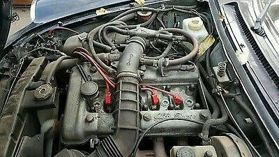 83 Alfa Romeo Spider 2.0 Engine Motor Assembly with manual transmission used  Engine Assembly Manual