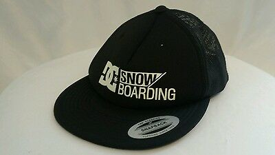 93df8932c87 DC Snow boarding Hat Cap Black Snap Back NEW