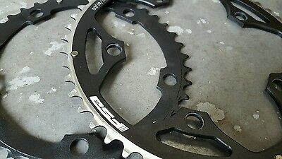 FSA PRO Road Bike Chainrings (Set of 2) Chain Rings (39 + 50t)  10 speed 130 BCD