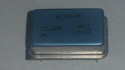 Motorola K1114am Oscillator 10mhz 5v.