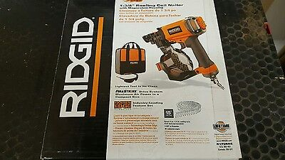 Ridgid R175RNE 1-3/4 inch Roofing Coil Nailer , Brand New /