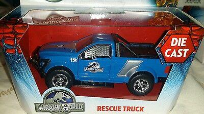 Jada Jurassic World Park Movie Rescue Truck 1/43 scale  Diecast  Car 97078