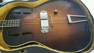 Rickenbacker 1934 Spanish Tenor Electro Guitar  and matching AMP Super Rare