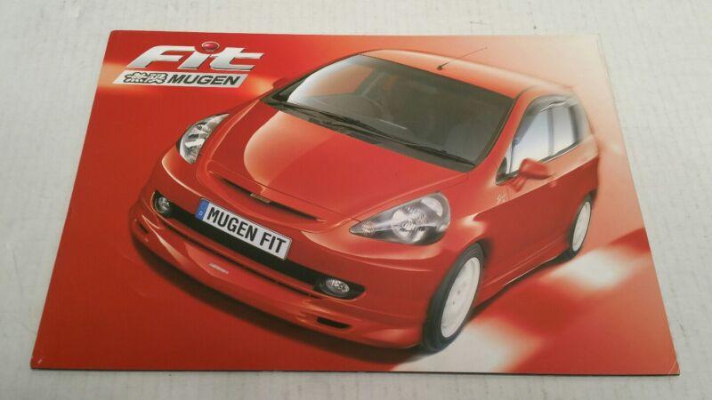 2001 Mugen Power Honda Fit Catalog Brochure GD Jazz Japan HTF