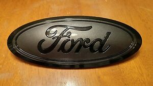 2015-17 Ford F150 GRILL emblem custom GLOSS magnetic and black combo