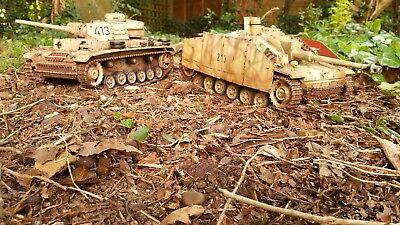 heng long 1/16 stug iii  rc model tank custom painted for sale  Shipping to Ireland
