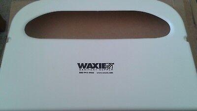 40 Hospeco Toilet Seat Cover Dispensers - Half-fold - Plastic - White (hg12) NEW Fold Seat Cover Dispenser