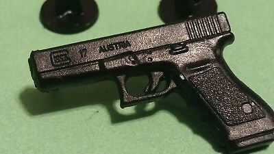 2 GLOCK 17 AUSTRIA 9X19 9MM 1911 Firearm Handgun Pistol Hatpin SHOT-SHOW 2 PINS - Shot Pin