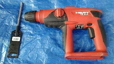 Hilti Te 2-a 24v Hammer Drill And 1 Bosch Bit