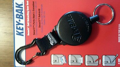 KEY-BAK SECURIT Model #488B Super Duty Retractable Reel with 36 in Kevlar Cord
