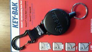 KEY-BAK SECURIT Model #488B Super Duty Retractable Reel with 36 in Kevlar Cord