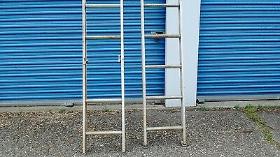 Aluminum 28 Ft. Extension Ladder By Keller Duty Rating 200 Lbs.type Three