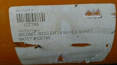 Wldmt 74 W Hex Shaft 107785 Roller Flail Mower Part Alamo Rhino