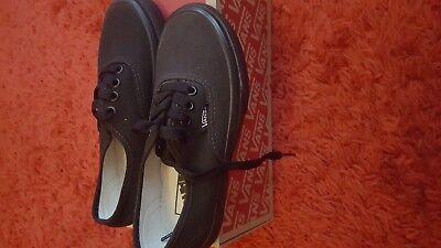 Vans Shoes Sale Kids (SALE! WAS £36.95 - Vans Kids Black Authentics, Kids 10 -12.5)