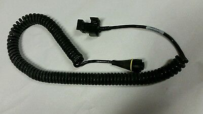 Trimble Gps Geo-xt Camcorder Coiled Power Cable Pn 39181 Rev 3 Battery Adapter