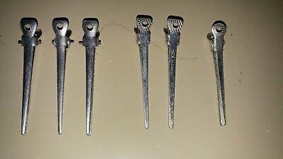 6 mollette capelli d'epoca made in italy anche per collezione usato  Lido Ticino