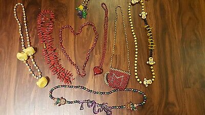 2006 Mardi Gras 8 Custom Bead sCollection Fashion Jewelry Women Men