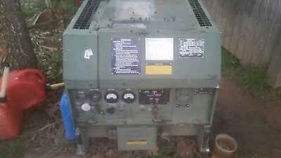 Mep-831a 3kw Diesel Continous Run Generator Tactical Quiet Military