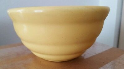 Vintage Bauer #36 Ringware,Beehive Small Mixing Bowl, Yellow, California Pottery