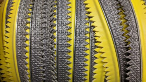 FOUR WINNS BOAT DOUBLE WELT 1/2 INCH MARINE BOAT WELTING (10 YARDS) YELLOW GRAY