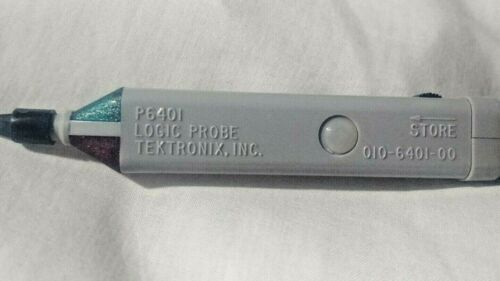 Tektronix  P6401 Active Logic Probe 010-6401-01 For TTL, DTL Inc Accs+DataSheets