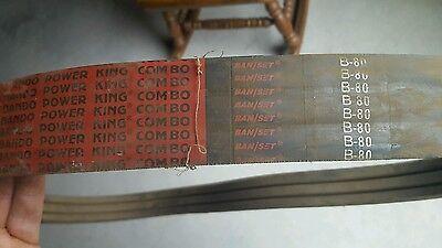 Free Ship Bando Power King Combo B-80 V-belt