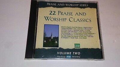 - Accompaniment CD Split Trax - 22 Praise & Worship Classics Volume 2 - 9 Tracks