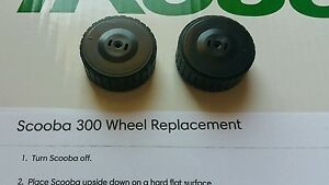 *NEW* iRobot Scooba Drive wheels 5800 5900 330 340 380 390 385 All past models