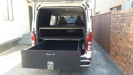 VAN STORAGE DRAWERS Seven Hills Blacktown Area Preview