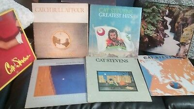 Cat Stevens Collection  Lot Of 8 Lps All In Vg Condition With Original Sleeves