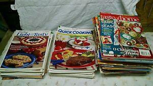 Taste of Home  Magazine Lot No Duplicates Medium Flat Rate Box Full