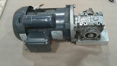 Electric Motor .75hp 115208-230v 1725 Rpm 1 Ph W Varvel Gear Reducer 1293kw