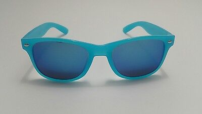 Heart Effect Diffraction Glasses With Shaded Blue Lenses And Blue (Glasses With Plastic Frames And Clear Lenses)