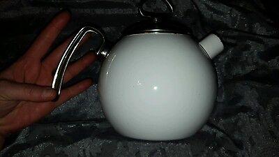 Chantal Brand Small Metal Teapot White High End ceramic kettle GUC