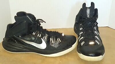 on sale 2c921 c365f Nike Hyperdunk 2014 TB-Black White Silver 653483-001 Size 13.5 M Mens High  Top