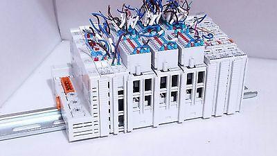 Beckhoff Bk7150 Cc-link Bk7150 Kl9184 Kl9010 2x Kl6001 3x Km1002 Plc Terminal